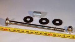 M8-130mm lajitelma, 10-50 mm alumiini holkki